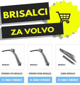VOLVO C70 CABRIO / COUPE Brisalci (Metlice Brisalcev)